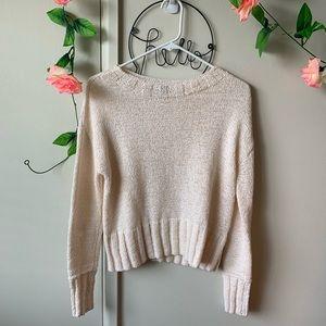 J. Crew • Slightly Cropped Sweater
